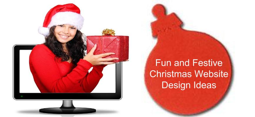 Christmas Website Design Ideas