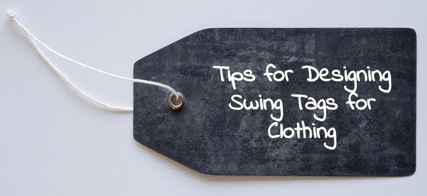 Clothing Swing Ticket Design Tips - Building your Brand