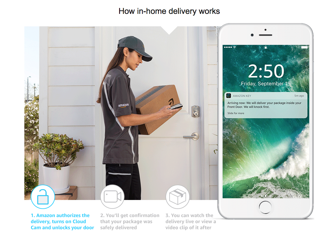 amazon key delivery service